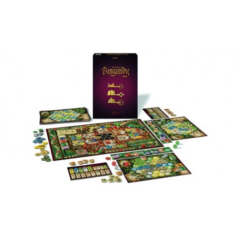 The Castles of Burgundy 20th Anniversary Edition (2019) - настолна игра