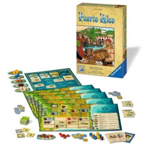Puerto Rico Deluxe Second edition (2019) - настолна игра