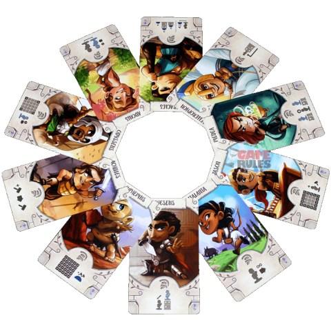 Santorini: Golden Fleece (Spin Master Edition) - разширение за настолна игра