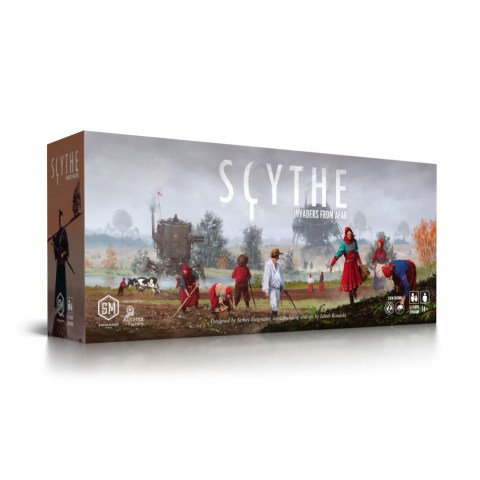 Scythe: Invaders from Afar Expansion Board Game