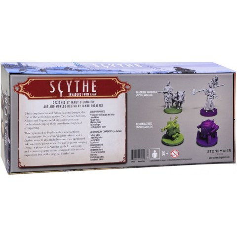 Scythe: Invaders from Afar Expansion (2016) - разширение за настолна игра