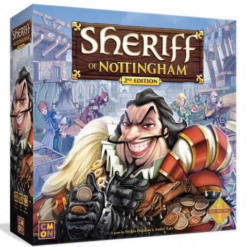 Sheriff of Nottingham 2nd Edition (2020) Board Game