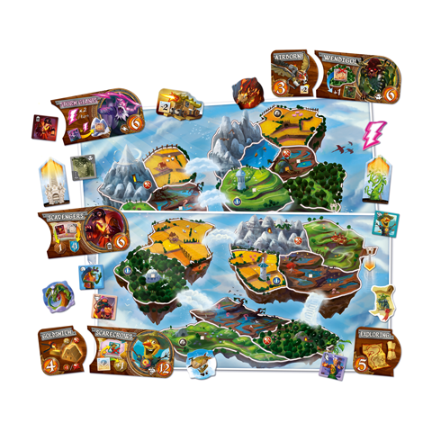Small World: Sky Islands Expansion (2017) Board Game