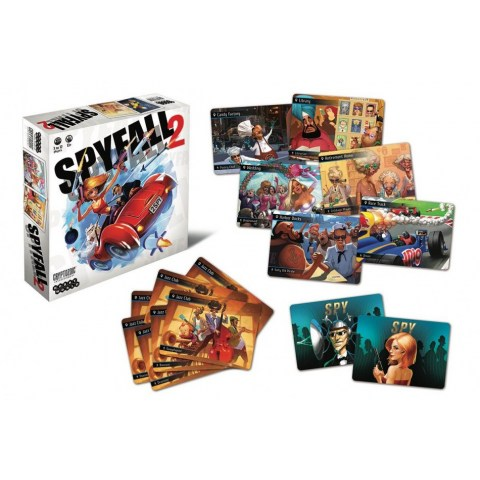 Spyfall 2 (2017) Board Game