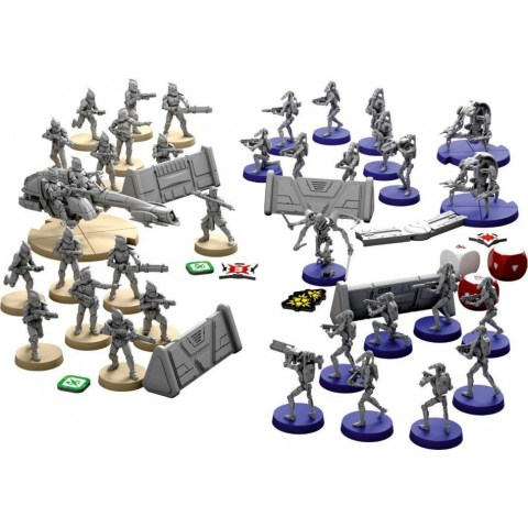 Star Wars: Legion Miniatures Game - Clone Wars Core Set (2019) - настолна игра