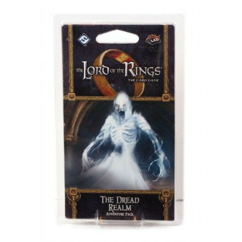 The Lord of the Rings LCG: Angmar Awakened Cycle - The Dread Realm Adventure Pack Board Game