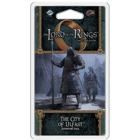 The Lord of the Rings LCG: Vengeance of Mordor Cycle #2 - The City of Ulfast Adventure Pack Board Game