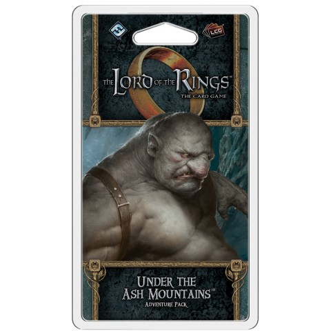 The Lord of the Rings LCG: Vengeance of Mordor Cycle #4 - Under the Ash Mountains Adventure Pack
