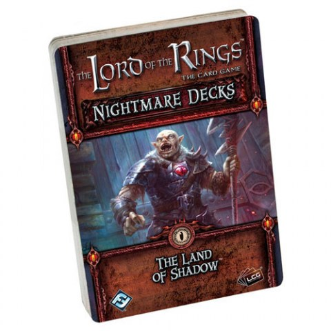 The Lord of the Rings: The Card Game – The Land of Shadow Nightmare Deck (2017)