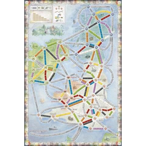 Ticket to Ride Map Collection: Volume 5 – United Kingdom & Pennsylvania (2015) - разширение за настолна игра