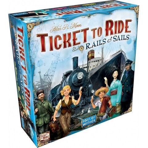 Ticket to Ride: Rails & Sails (2016) - настолна игра