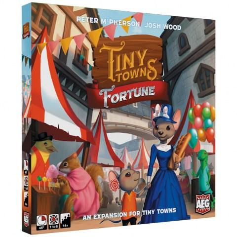 Tiny Towns: Fortune (2020) - разширение за настолна игра