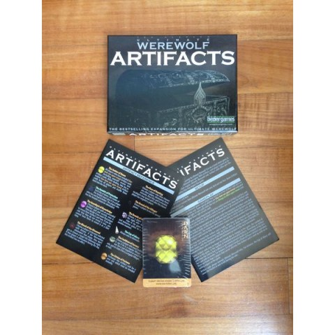 Ultimate Werewolf Artifacts ‐ English second edition Expansion (2014) - разширение за настолна игра