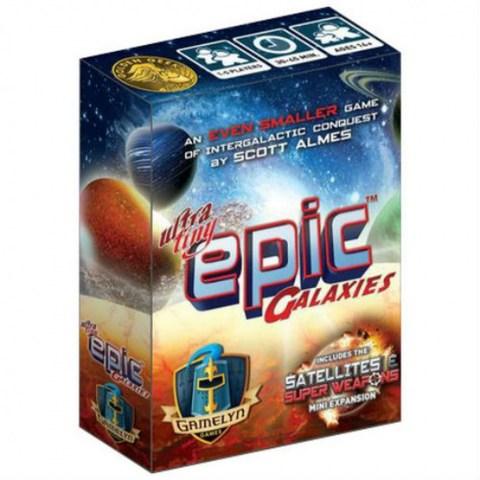 Ultra-Tiny Epic Galaxies (2019) - настолна игра