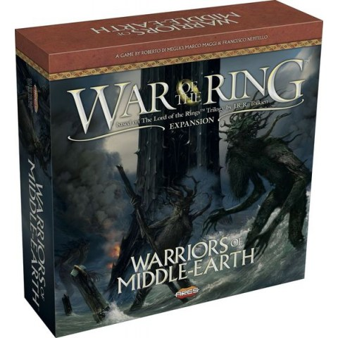 War of the Ring: Warriors of Middle-earth Expansion (2016) - разширение за настолна игра