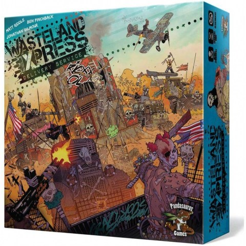 Wasteland Express Delivery Service (2017) - настолна игра