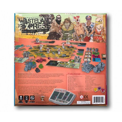 Wasteland Express Delivery Service (2017) Board Game