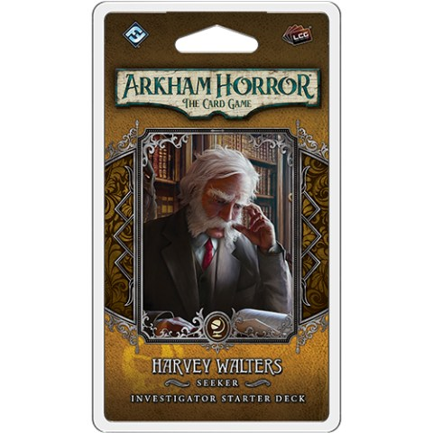 Arkham Horror: The Card Game - Harvey Walters Investigator Starter Deck