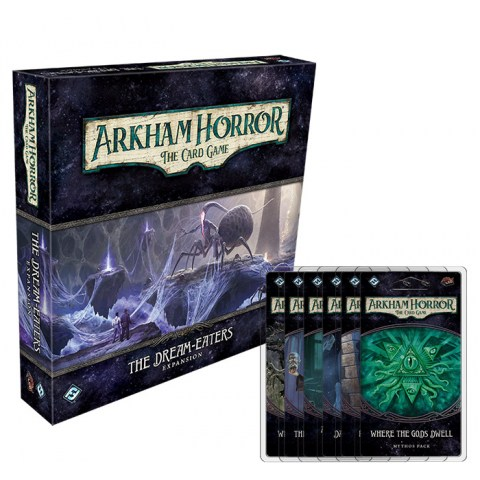 Arkham Horror: The Card Game - The Dream-Eaters Full Cycle Board Game