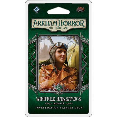 Arkham Horror: The Card Game - Winifred Habbamock Investigator Starter Deck