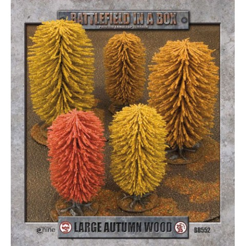 Battlefield In A Box - Large (30mm) Autumn Wood