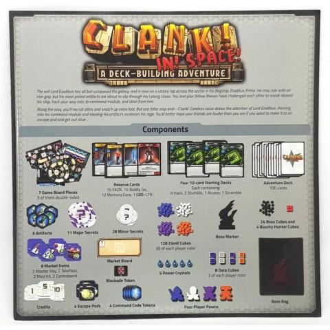 Clank! In! Space! (2017) - настолна игра