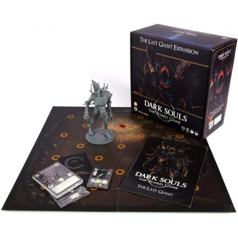 Dark Souls: The Board Game - Mega Boss Expansions - The Last Giant Board Game