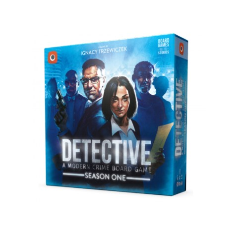 Detective: A Modern Crime Board Game – Season One (2020) - настолна игра