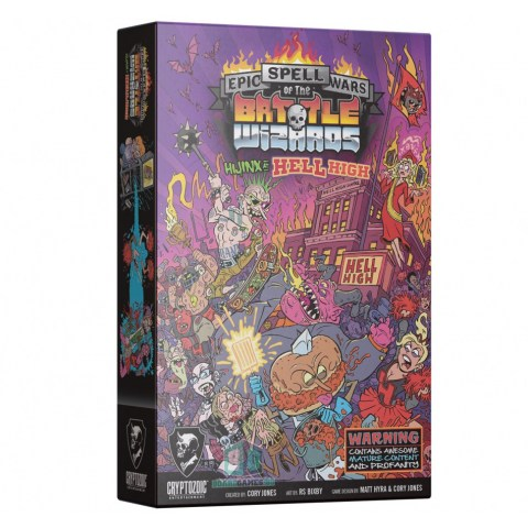Epic Spell Wars of the Battle Wizards V: Hijinx at Hell High (2020) - настолна игра