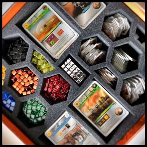 Feldherr foam set for Terraforming Mars - board game box insert