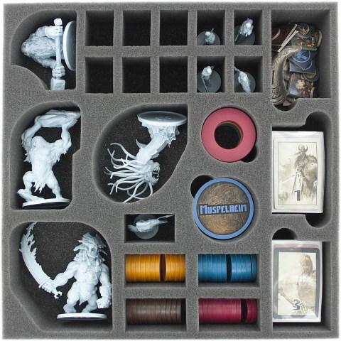 Feldherr foam tray set for Blood Rage - board game box insert Board Game