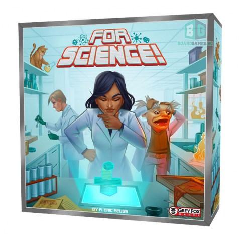 For Science! (2020) - настолна игра