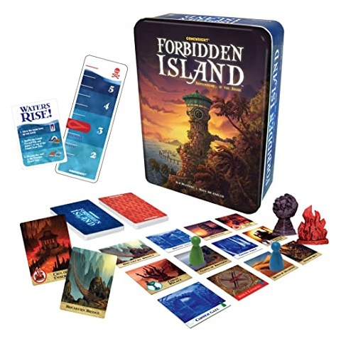 Forbidden Island (2010)  - кооперативна настолна игра