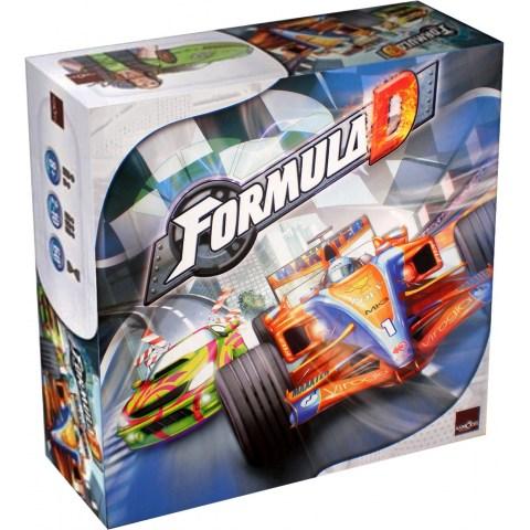 Formula D (2018) - настолна игра