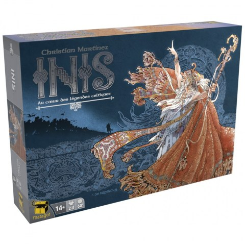 Inis (English second edition, 2019) - настолна игра
