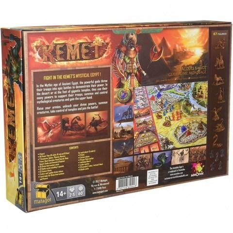 Kemet (Multilanguage Revised Edition 2019) - стратегическа настолна игра