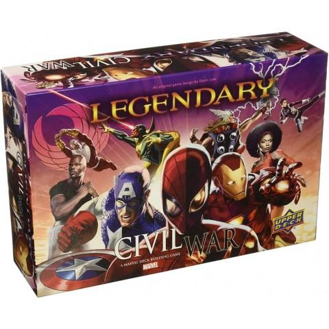 Legendary: A Marvel Deck Building Game - Civil War Expansion (2016)