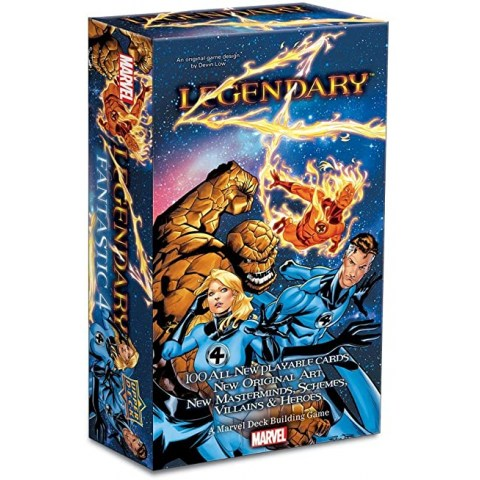 Legendary: A Marvel Deck Building Game - Fantastic Four Small Box Expansion