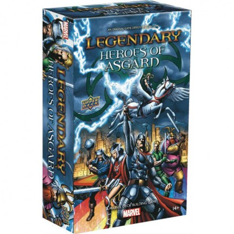 Legendary: A Marvel Deck Building Game - Heroes of Asgard Expansion (2020)