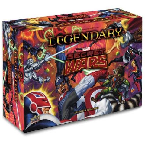 Legendary: A Marvel Deck Building Game - Secret Wars - Volume 1 Expansion