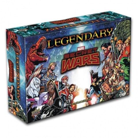Legendary: A Marvel Deck Building Game - Secret Wars – Volume 2 Expansion Board Game