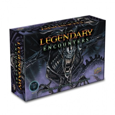 Legendary Encounters: An Alien Deck Building Game Expansion (2016) - разширение за настолна игра