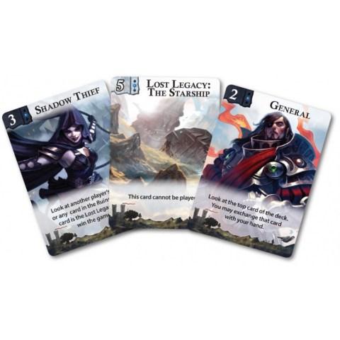 Lost Legacy: The Starship (2014) - настолна игра с карти