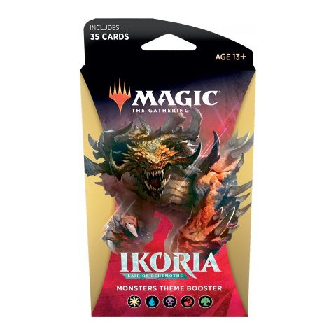 MTG: Ikoria: Lair of Behemoths - Theme Booster - Monsters