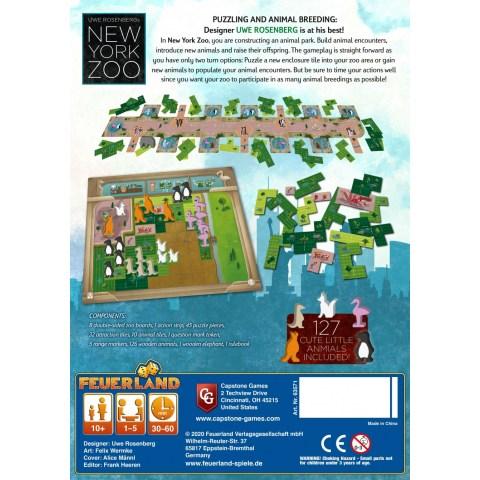 New York Zoo (2020) - настолна игра
