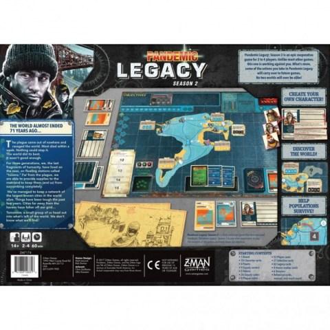 Pandemic Legacy: Season 2 Black Edition (2017) - настолна игра