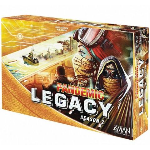 Pandemic Legacy: Season 2 Yellow Edition (2017) - настолна игра