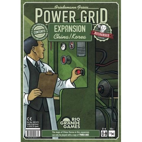 Power Grid: China/Korea (English Recharged Edition, 2019) - разширение за настолна игра