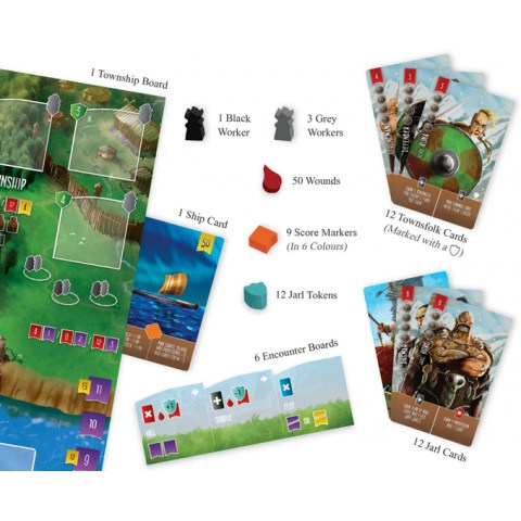 Raiders of the North Sea: Fields of Fame Expansion (2018) - разширение за настолна игра