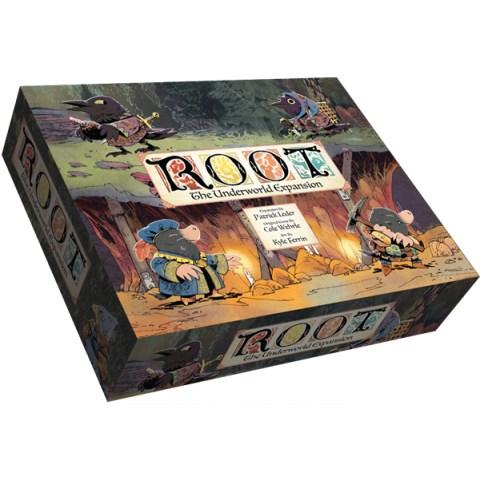 Root: The Underworld Expansion (Retail Edition, 2019) - разширение за настолна игра Root